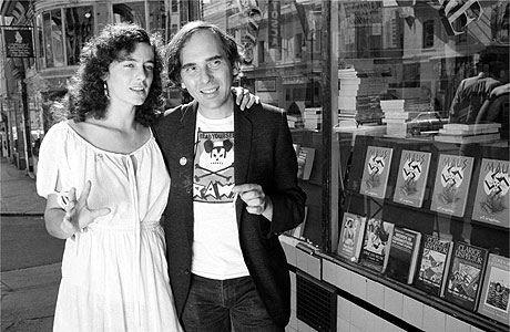 A Young Mouly and Spiegelman